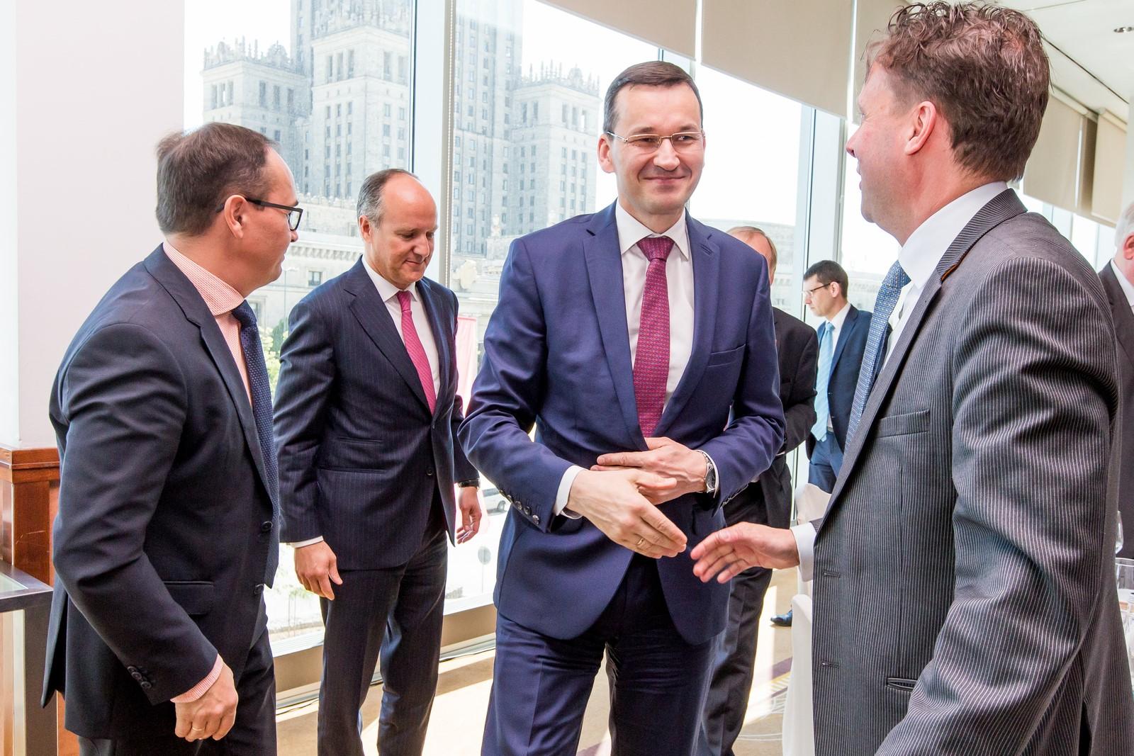 Spotkanie IGCC z wice-premierem Mateuszem Morawieckim